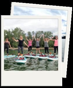 Pathways Pediatrics Team Picture SUP Yoga